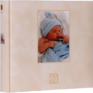 Baby Fotoalbum EVA BORN   Einsteckfotoalbum BLAU von HENZO   Babyfotoalbum zur Geburt oder Taufe   Babyalbum f�r 200 Fotos (10 x 15 cm)  : Baby