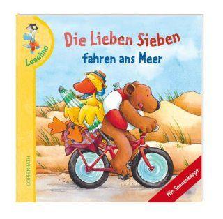 Leselino: Die Lieben Sieben fahren ans Meer: Verkaufseinheit: Gaby Scholz, Kerstin V�lker: Bücher