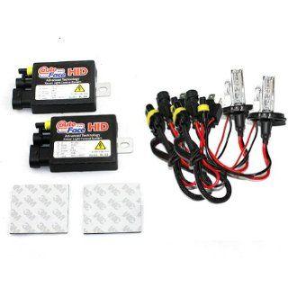 Car HID Xenon Dual Beams Conversion Kit   2 pcs HID 813A Ballasts with 2 pcs H4L HID xenon Bulbs Lamps Lights 4300K (HID Slim Ballast, HID Xenon Bulb)