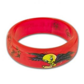 Looney Tunes Tweety Spoiled Little Bird Red Bangle Clothing