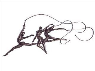 Shop Ribbon Dancers Iron Sculpture   Wall Art   Ships Immediately !! at the  Home D�cor Store