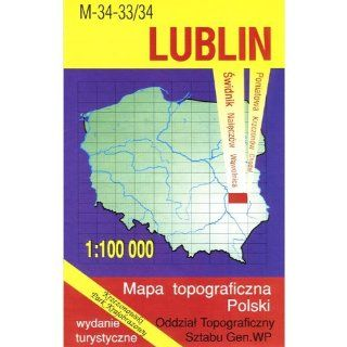 Lublin Region Map Unknown 9788371351709 Books