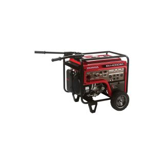 Honda EM4000 iAVR Series Generator with Electric Start — 4000 Surge Watts, 3500 Rated Watts, CARB-Compliant, Model# EM4000SX  Portable Generators