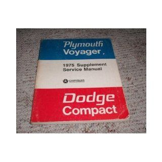 1975 Dodge Compact Truck Service Shop Repair Manual Supplement FACTORY OEM (Used 1975 Dodge Compact service manual Supplement. Tons of information and illustrations, covers alot.) covers alot. Used 1975 Dodge Compact service manual Supplement. Tons of inf