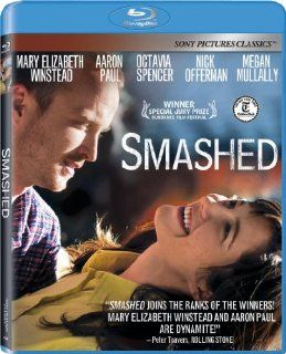 Smashed [Blu ray]: Mary Elizabeth Winstead, Aaron Paul, Nick Offerman, Megan Mullally, Octavia Spencer, Mary Kay Place, Kyle Gallner, Mackenzie Davis, Bree Turner, Brad Carter, Barrett Shuler, Rene Rivera, James Ponsoldt, Alishe Beardeaux, Andrea Sperling,