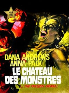 The Frozen Dead (Le Chateau Des Monstres) [VHS Retro Style DVD] 1966 Dana Andrews, Anna Palk, Philip Gilbert, Herbert J. Leder  Instant Video