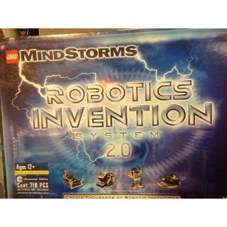 Mindstorms Robotics Invention System 2.0: Lego: 0042884038045: Books