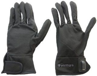 Venture Heated Clothing Motorcycle Glove Liners keeps your fingers and hand warm. Simply hook up with these glove liners with your motorcycle's battery and you're good to go for a ride. Heating elements are strategically positioned along the perime