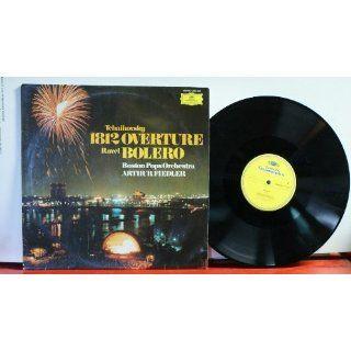 Tchaikovsky 1812 Overture Ravel Bolero Boston Pops Orchestra Arthur Fiedler (German Import) Music