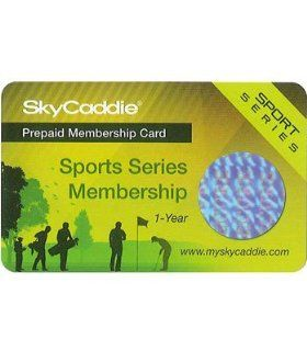 SkyGolf Sport Series Par Membership Card( COLOR: N/A ): Sports & Outdoors