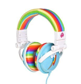 My Little Pony Rainbow Dash Over the Ear Headphones: Electronics