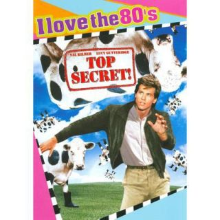 Top Secret (I Love the 80s Edition) (DVD/CD) (W
