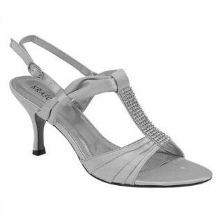 Hohe Damen High Heel slingback Strass Peep Toe Abend Hochzeit Sandalen Gr��e: Schuhe & Handtaschen