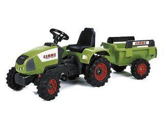 Falquet & Cie 956F   FALK Traktor Claas Celtis mit Anh�nger Spielzeug