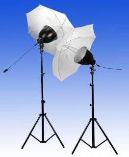 Profi Studioleuchten 2er Set inkl. Reflektoren: .de: Kamera & Foto