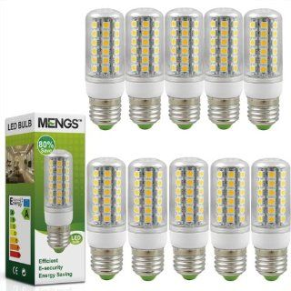 10X MENGS� E27 LED lampe Leuchtmittel & Birne Mais Licht 8W (Kaltwei� 6000K   450LM   48 x 5050 SMD LED   360� Abstrahlwinkel   AC 220 240V   �32�98mm) Energiespar licht Beleuchtung
