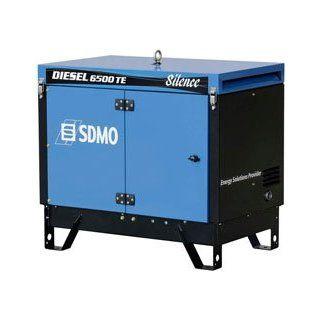 SDMO Stromerzeuger Diesel 6500 TE Silence 230/400 V 6,5 kVA: Baumarkt