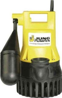 Jung Pumpen JP00206 Tauchpumpe U 3 KS 0.32 kW, 3 m Kabel mit Schaltautomatik: Baumarkt