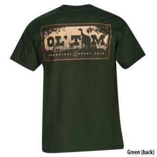 Ol Tom Mens Short Sleeve Silhouette Logo Tee 451055