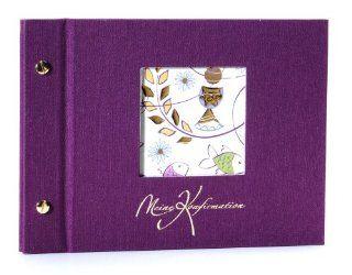 Fotoalbum KONFIRMATION Purple   Schraubalbum: Küche & Haushalt