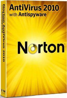 Norton Antivirus 2010   5 User Upgrade (PC CD) Software