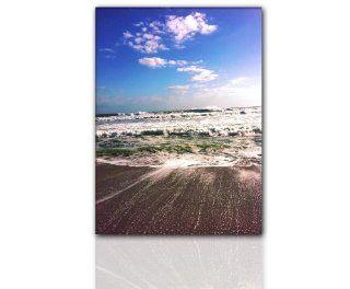 Keilrahmenbild Meer Wandbild (ocean 90x120cm) romantisch Bild xxl g�nstig & modern Bild auf Leinwand und Keilrahmen, der aktuelle Deko Trend 2011! Modern Art Pics in hoher Qualit�t als original Kunstdruck   Picture Style Motiv Foto als Bild. Ein Blickf