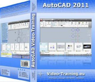 AutoCAD 2011 Video Training: 11 Stunden Video Training (260 Videos). F�r Windows 98/ME/2000/XP/Vista/Windows7. Incl. �bungen und Volltestversion (30 Tage Fristversion): Mohammed Mezmiz: Software