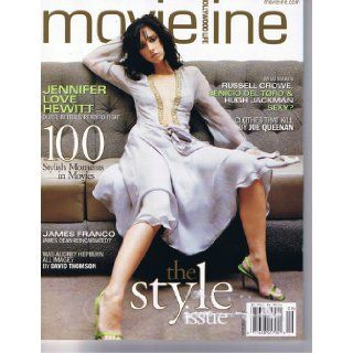 Movieline Magazine September 2002 Jennifer Love Hewitt James Franco * Russell Crowe * Benicio Del Toro * Hugh Jackman * Was Audrey Hepburn All Image? Movieline Magazine, Alib Books
