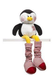 Penguin Plush Stuffed Animal   Ganz Leg A Longs Penguin Toys & Games
