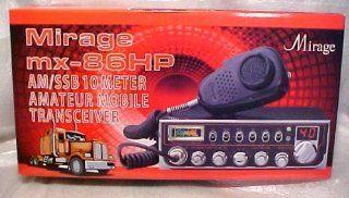 NEW Mirage MX 86HP 10 Meter Ham Radio AM/FM SSb Sideband Transceiver Electronics