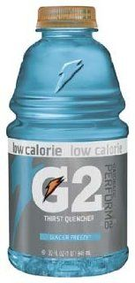 Gatorade G2 Low Calorie Glacier Freeze Thirst Quencher Sports Drink 32 oz (Pack of 12)  Grocery & Gourmet Food