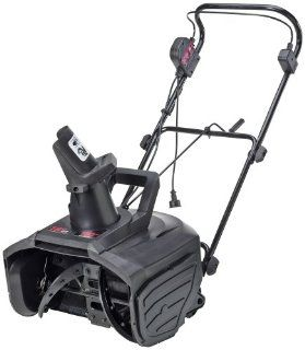 "Master Craft 18"" Electric Snow Blower : Snow Throwers : Patio, Lawn & Garden"