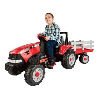 Case International Harvester Pedal Tractor and Trailer — Model# IGCD0554  Diggers   Ride Ons