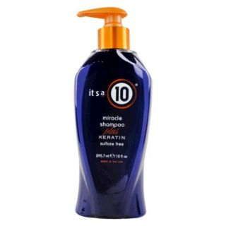 Its a 10 Miracle Shampoo plus Keratin   10 fl oz