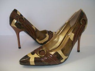 High Heel Closed Toe Womens Shoes, Camouflage Pumps, Size 9: Everything Else