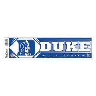 Duke Blue Devils Bumper Sticker  Sports Fan Bumper Stickers  Sports & Outdoors