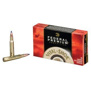 Federal Premium Vital Shok Centerfire 338 Win Mag 210gr PAR Rifle Ammo 443217