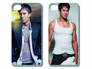 Wholesalse 2pcs New Super Star Handsome Boy Enrique Iglesias Back Cover Case Skin for Apple Iphone 5 5g 5s 5th Generation i5ei2001: Cell Phones & Accessories