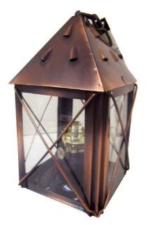 Glo Brite by 21st Century LWH323 Little House Oil Lamp or Candle Holder  Decorative Lighting  Patio, Lawn & Garden