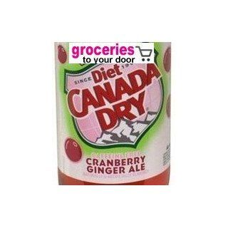 Canada Dry Ginger Ale Diet Cranberry, 12 oz Can (Pack of 24) : Ginger Ale Soft Drinks : Grocery & Gourmet Food