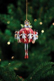 Patience Brewster Twelve Days Of Christmas Eleven Ladies Dancing 08 30349   Decorative Hanging Ornaments