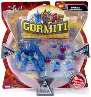 Gormiti Series 1 Action Figure 2 Pack Hammer the Predator and Goad the Elusive (Random Colors): Toys & Games