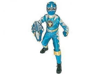 Blue Power Ranger Dino Thunder Costume (7 10): Clothing