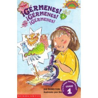 Germenes! Germenes! Germenes! / Germs! Germs! Germs! (Coleccion Hola, Lector: Level 3) (Spanish Edition): Bobbi Katz, Steve Bjorkman: 9780439087001:  Children's Books