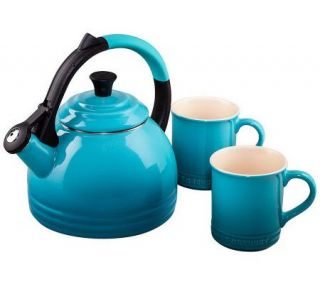 Le Creuset Peruh Kettle and Mug Set —