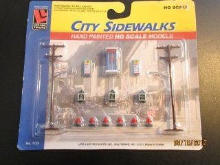 City Sidewalks Hand Painted Ho Scale Models Life Like Trains Ho Scale Toys & Games
