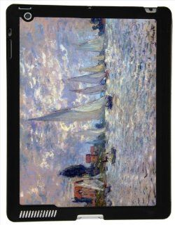 Rikki KnightTM Claude Monet Art Les Barques iPad Smart Case for Apple iPad� 2   Apple iPad� 3   Apple iPad� 4th Generation   Ultra thin smart cover with Magnetic support for Apple iPad Computers & Accessories