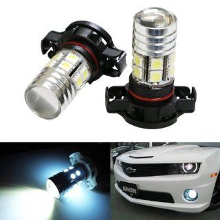 iJDMTOY CREE High Power SMD 5202 H16 LED Replacement Bulbs For Fog Lights or Daytime Running Lamps, Xenon White Automotive