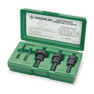 Hole Cutter Kit, 5 PC, Tungsten Carbide