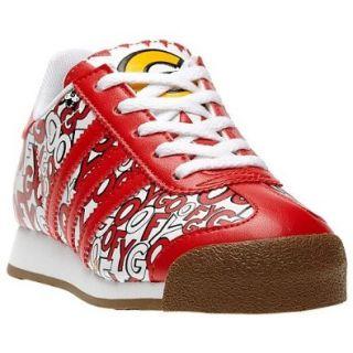 Kids Adidas Originals Samoa Goofy Sneaker, Big Kid, White/Red/Black size 1.5 Shoes